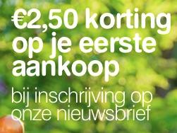7a0e5c2440d Schrijf je in voor de nieuwsbrief van Vitaminstore! Krijg tevens € 2,50  korting op je eerste aankoop na inschrijving!
